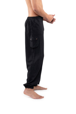 Mens Wrap Button Pants
