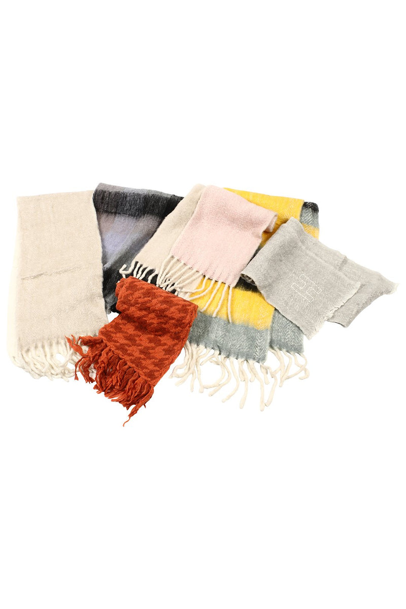 Assorted Brushed Blend Scarf