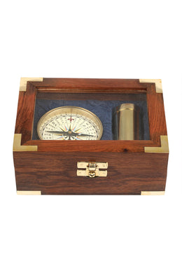Compass & Telescope Giftbox