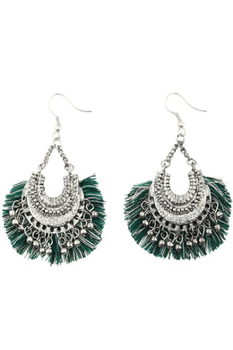 Tonal Tassel Earrings