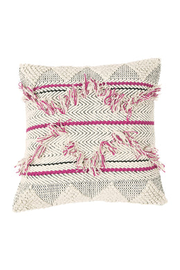 Diamond Fringe Cushion