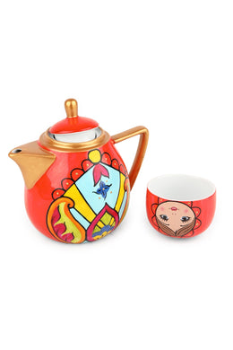 Russian Doll Teapot & Cup