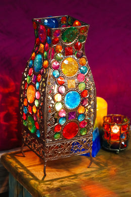 Multicolour Jewel Table Lamp
