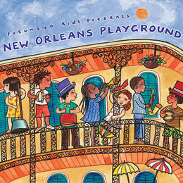 Putumayo Kids World Music CD 'New Orleans Playground'