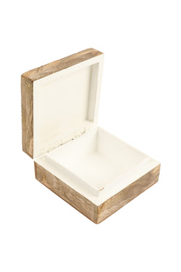 Hadi Deco White Wash Box