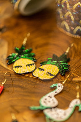 Pineapple Lash Earrings