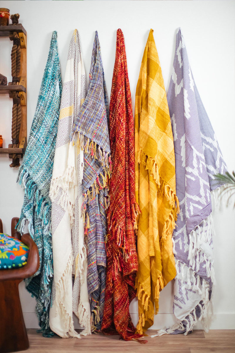 Assorted Cotton Throws