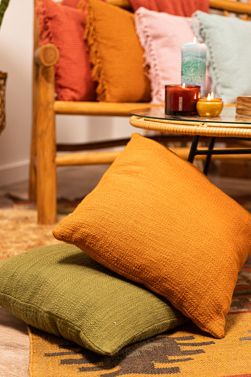 Amber Home Label Cushions