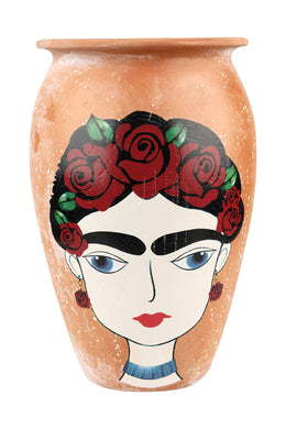Frida Kahlo Medium Rose Vase