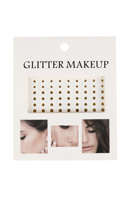 Glitter Makeup Metallic Tattoos