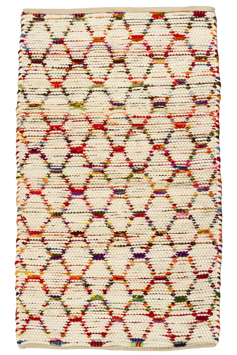 Multi Beehive Polar Rug - Medium