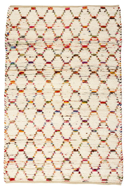 Multi Beehive Polar Rug - Large