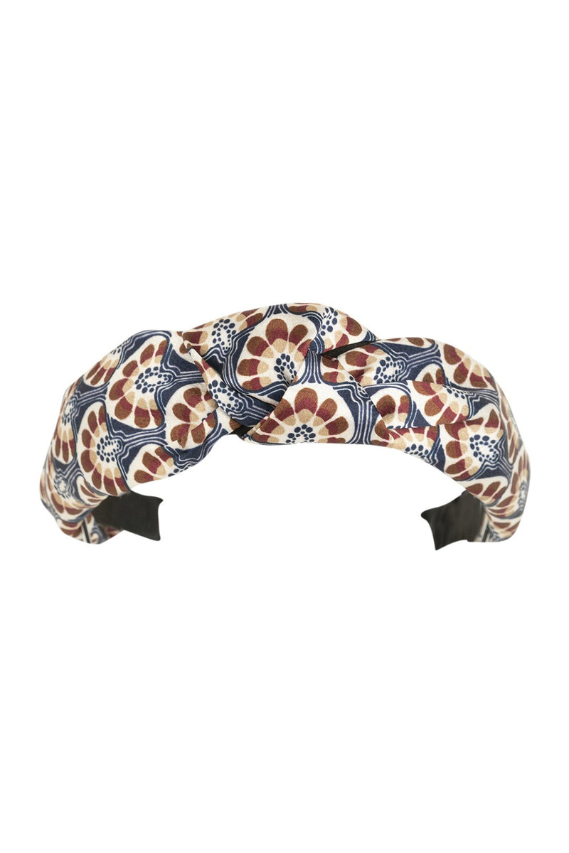 Head Band Knot Retro Floral
