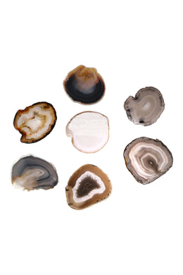 Assorted Natural Agate Gemstone Slice
