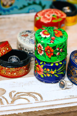 Assorted Kashmiri Painted Ring Box