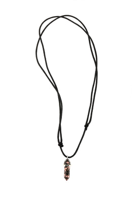 Obelisk Gemstone Necklace