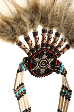 Earth Orange War Bonnet Head Dress
