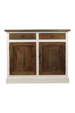 Elm Wood 2 Door Cabinet