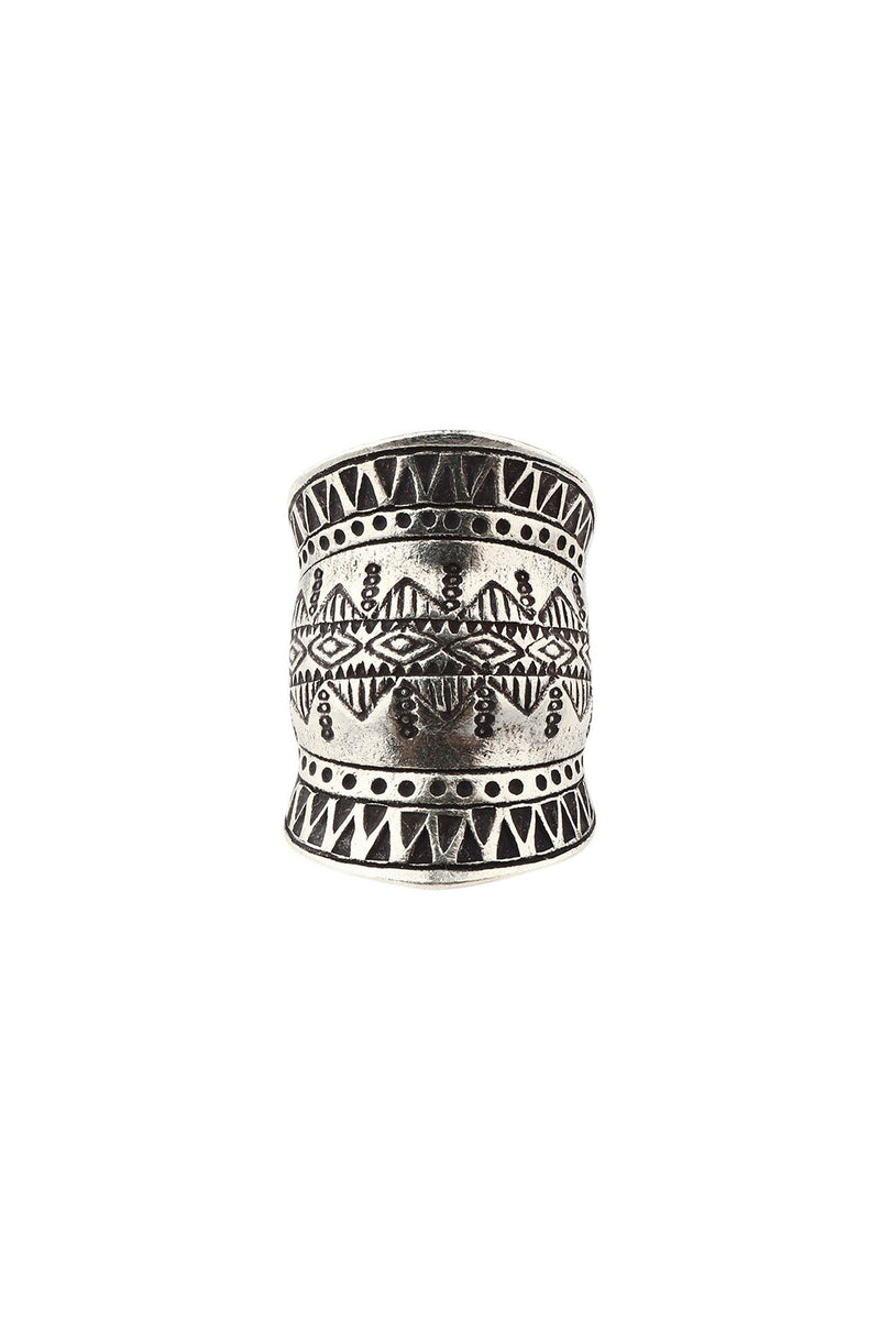 Hill Tribe Reflection Silver Ring