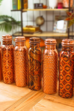 Copper Water Flask