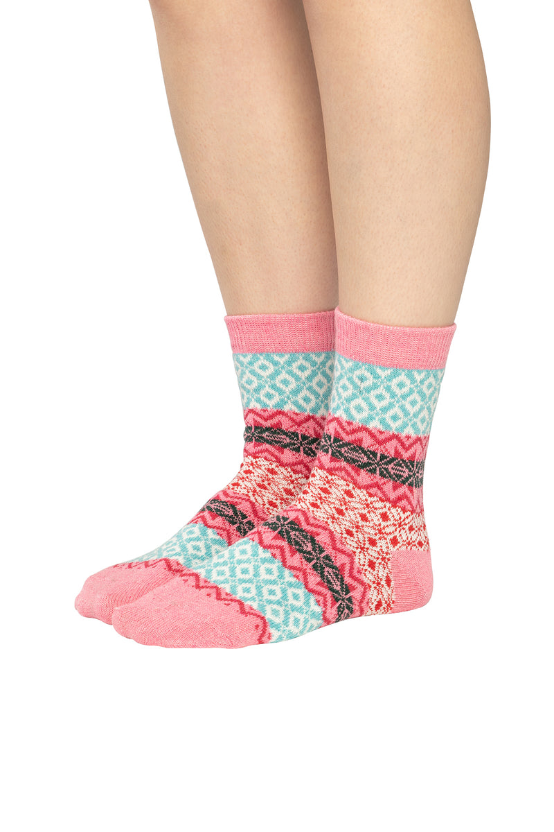 Assorted Bright Womens Retro Socks
