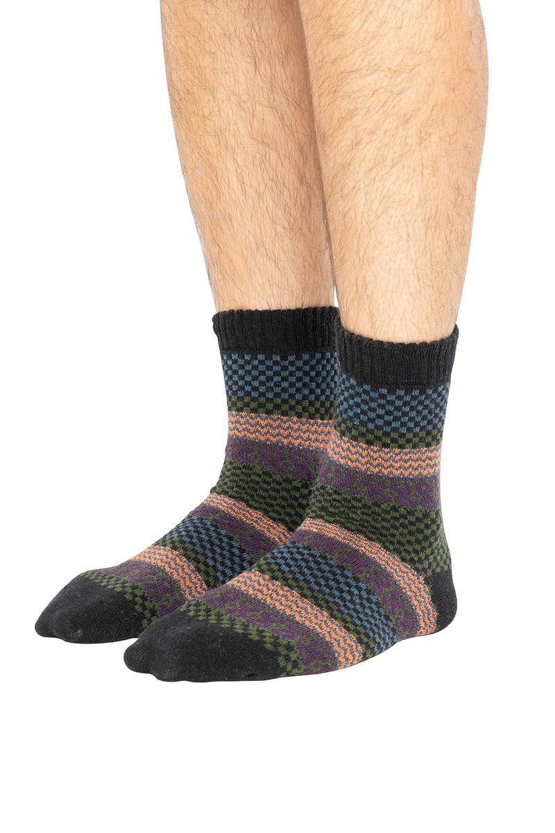Assorted Mens Mixed Check Socks