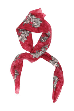 Assorted Square Silk Scarf