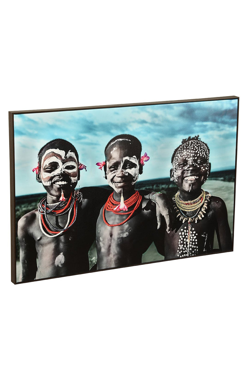 Print Framed Canvas 120x80cm