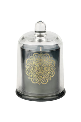 Large Glass Dome Candle