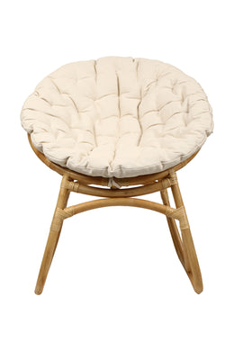 Lola Rattan Lounge Chair