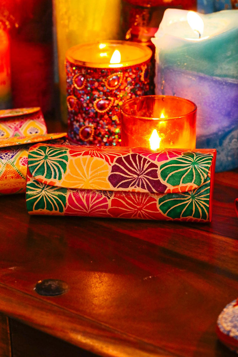 Assorted Painted Glasses Case