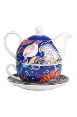 Love Birds Teapot Set for 1