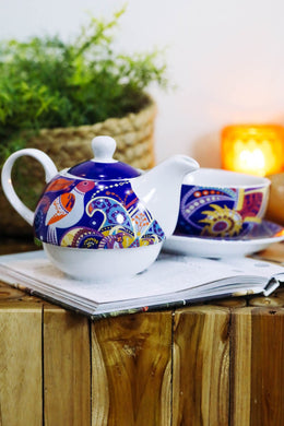 Love Bird Tea-for-One Teapot Set