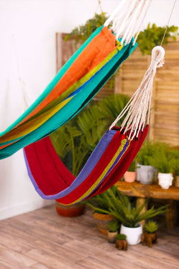 Assorted Large Summer Stripe Hammock
