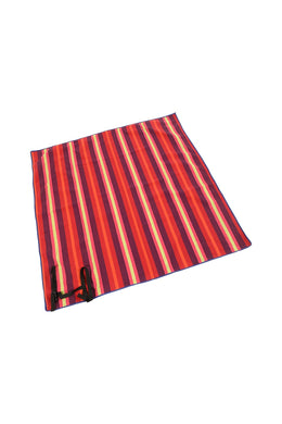 Red Stripe Picnic Rug