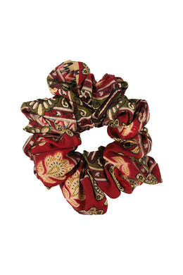 Assorted Upcycle Saree Scrunchy