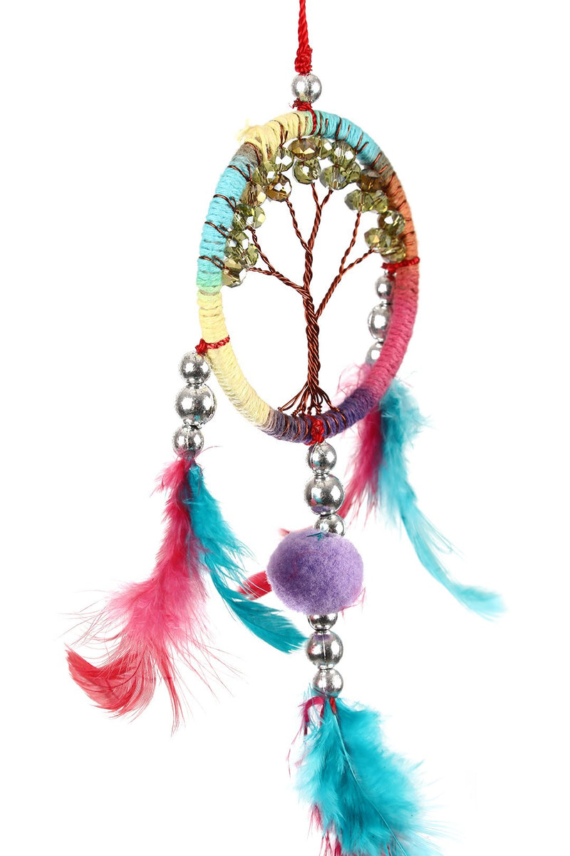 Tree of Life Feather Dream Catcher