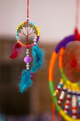 Tree of Life Feather Dreamcatcher