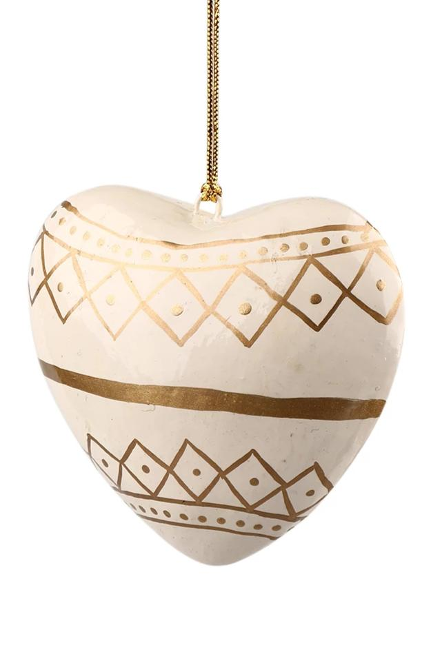 Tribal Heart Decoration