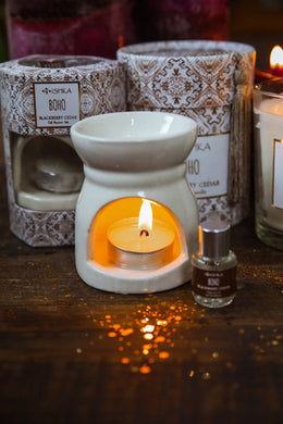 Ceramic Oil Burner Set