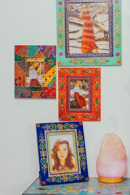 Marwari Patchwork Photo Frame