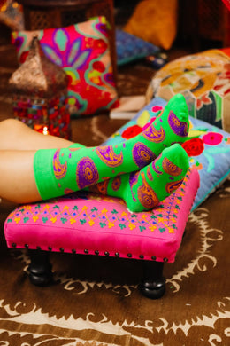 Assorted Paisley Mens Socks