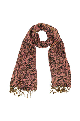 Assorted Prints & Colours Jacquard Scarf