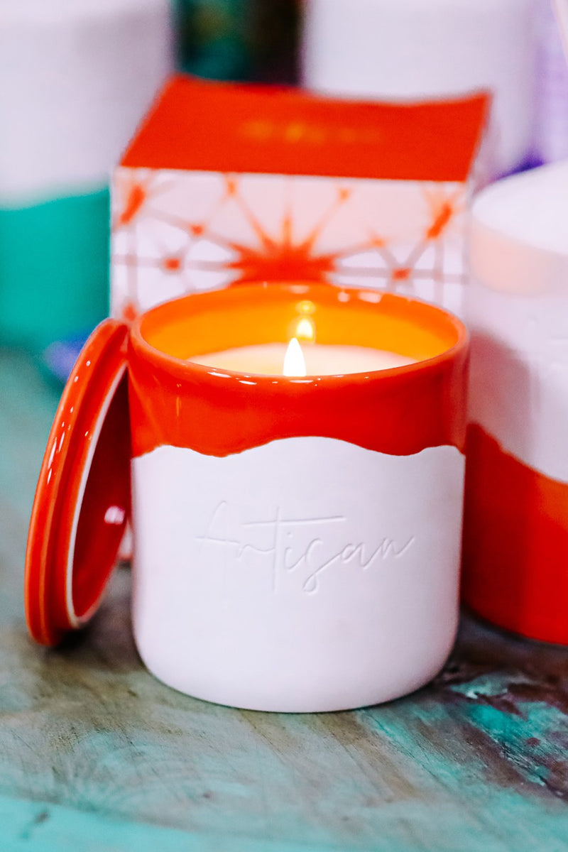 Artisan Ceramic Candle