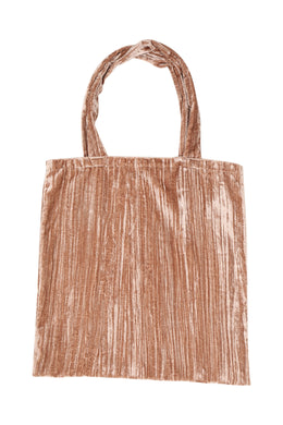 Oversized Velvet Tote Bag