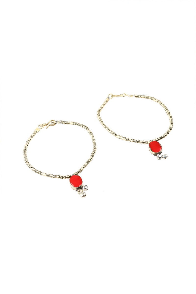 Kutchi Anklet Set of 2