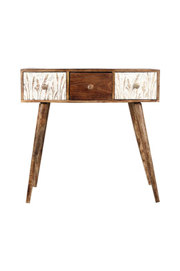 Meadow Mango Wood Drawers Console Table