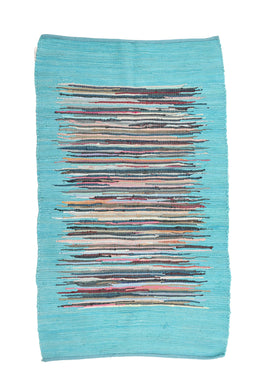 Cloud Chindi Rag Rug 90x150cm