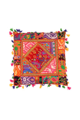 CUSHION GUJARATI 45X45CM MULTI