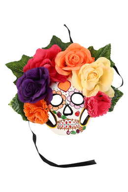 Garland Day of the Dead Mask